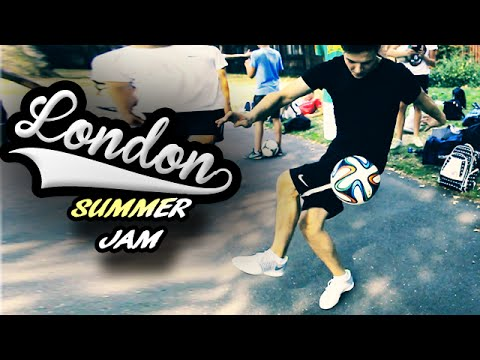 London Summer Jam 2014 – Football Freestyle