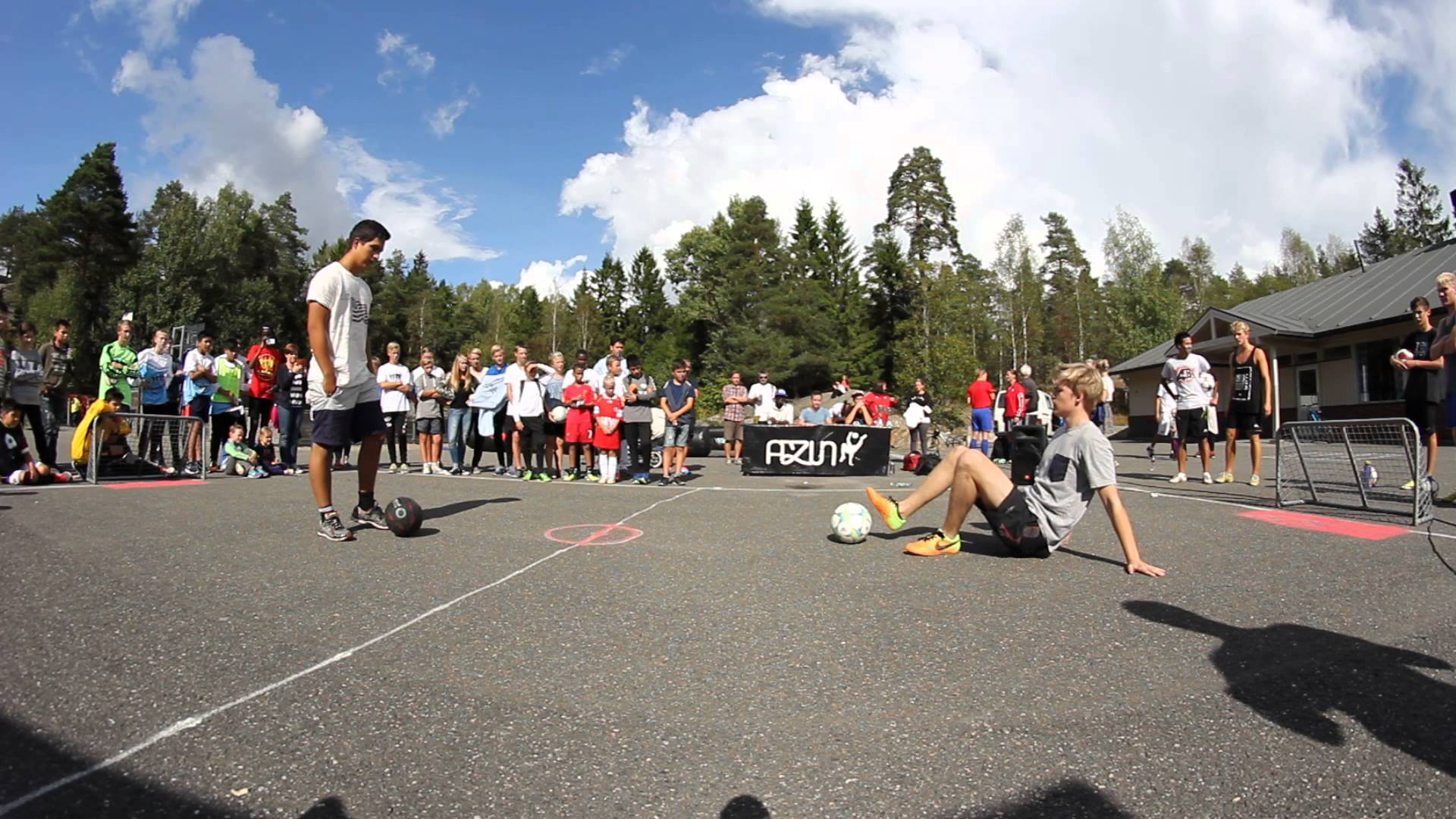 Azun Challenge 2014 – Cristian vs Jørgen