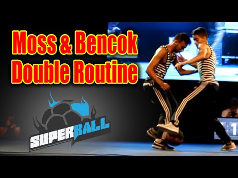 Moss & Bencok – Double Routine – Superball 2014