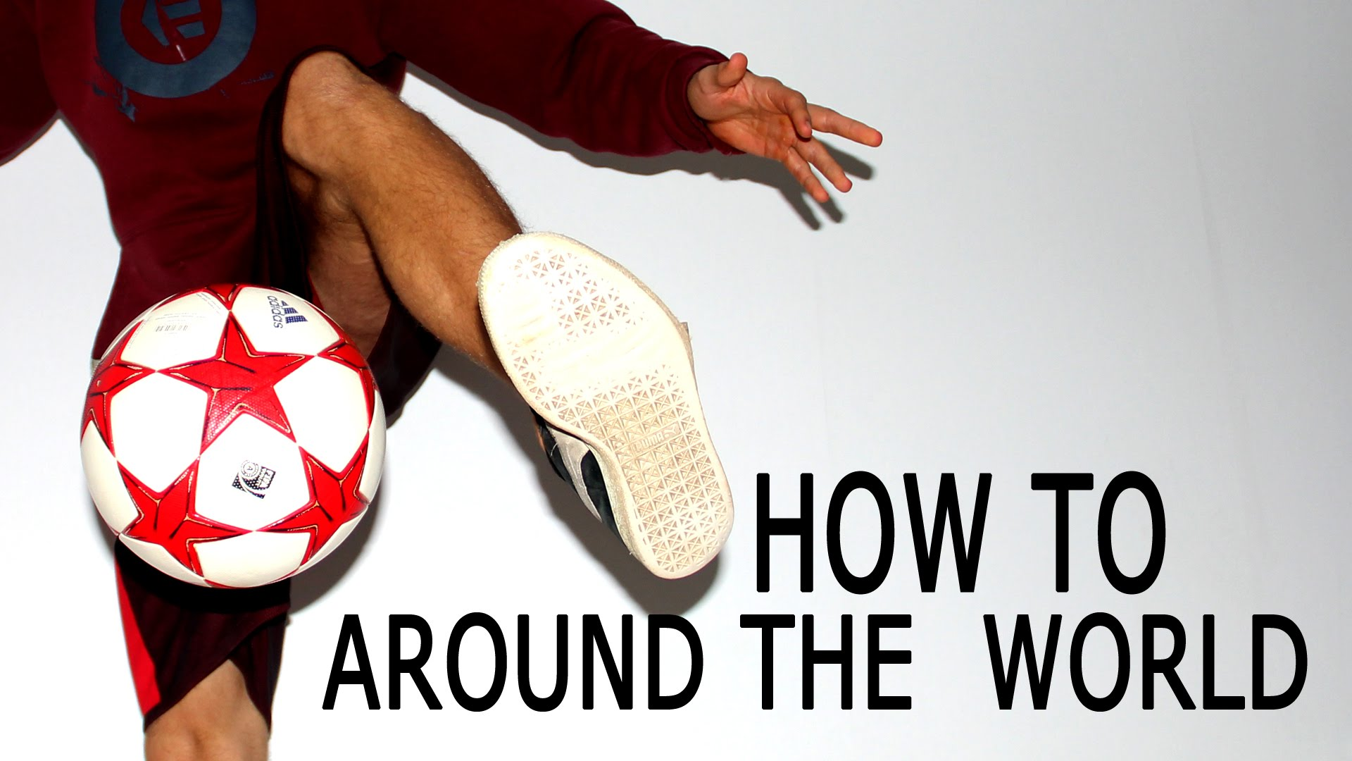 How To Do The Around The World | Freestyle Football Training | Palle