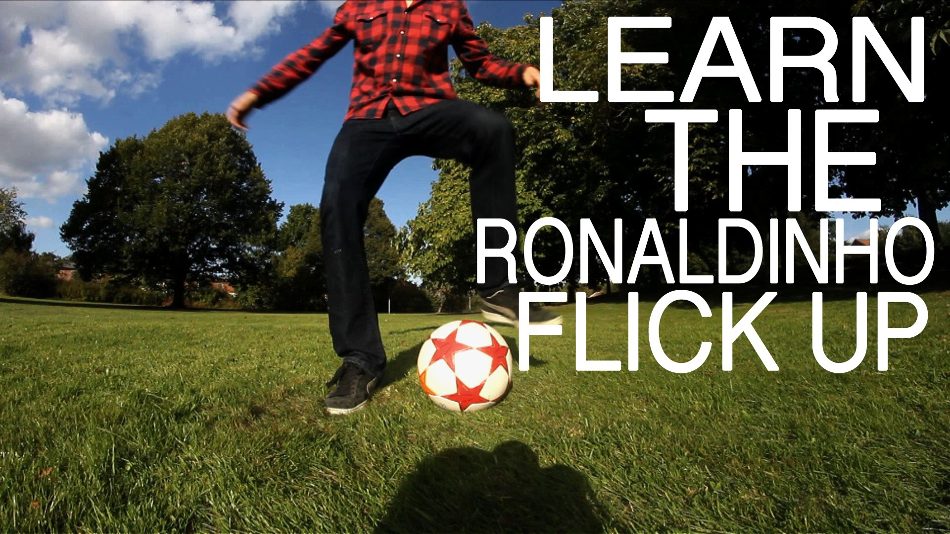 How To Do The Ronaldinho Flick Up | Football Training | Palle