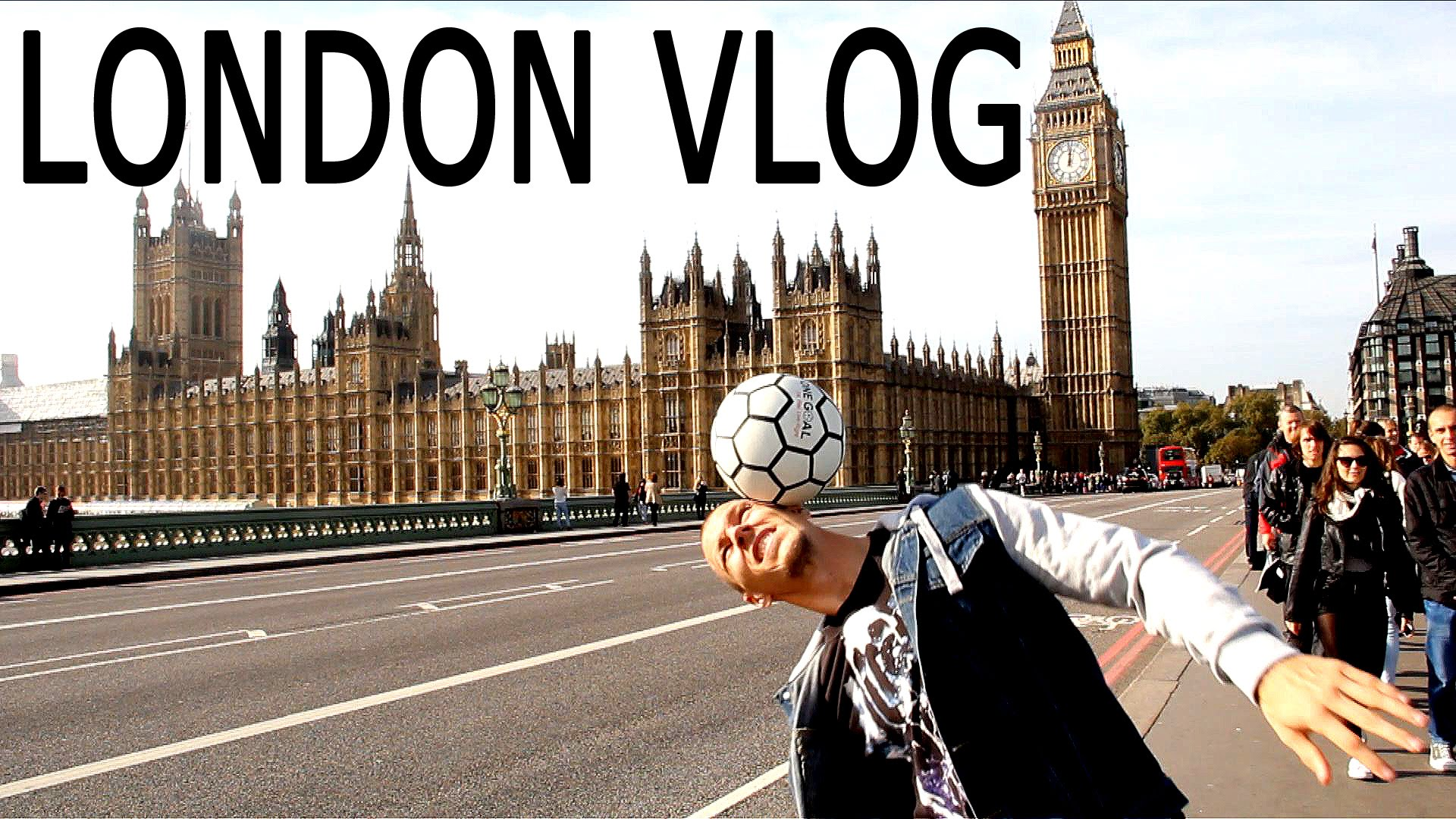 London Eye, Sonic and F3 World Freestyle Tour: London | Palle's Vlog