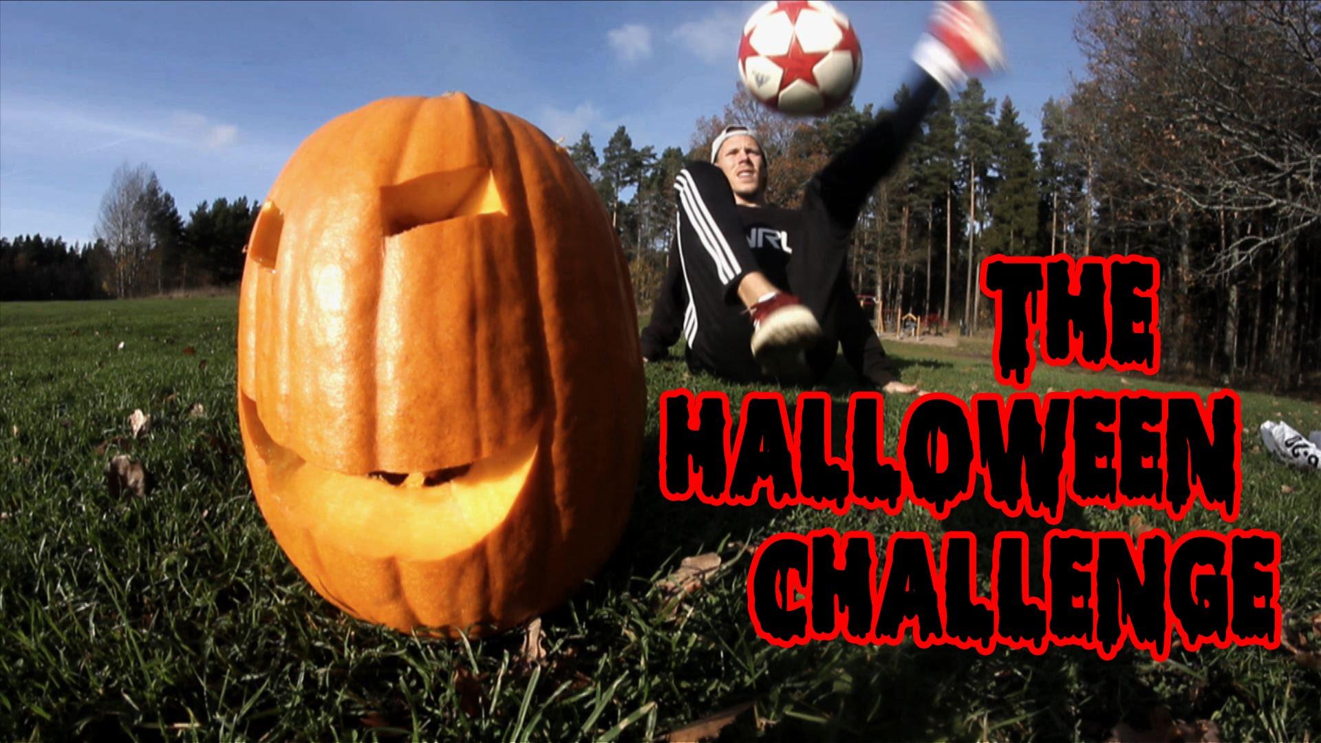 Will A Soccer Ball Explode A Pumpkin? | Palle's Halloween Challenge