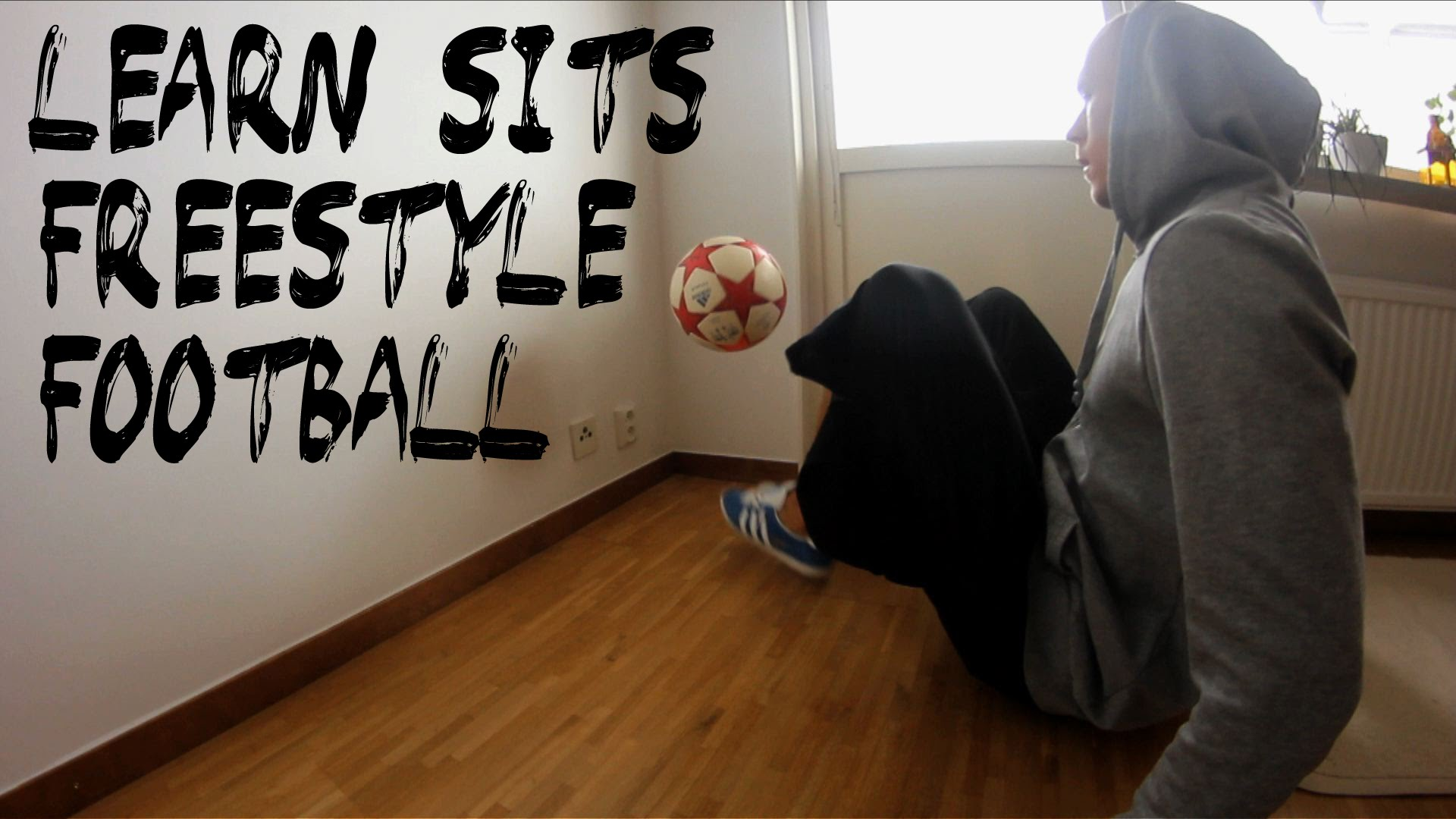 How To Learn Sits | Freestyle Football Training | Palle