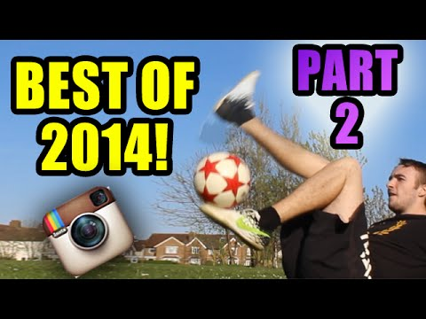 Best of Instagram 2014 PART 2  – Football Freestyle – @learn2freestyle