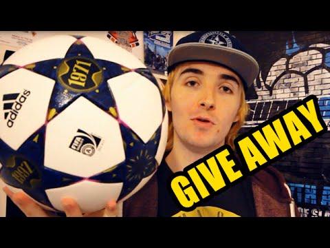 GIVE AWAY: ADIDAS CHAMPIONS LEAGUE MATCH BALL