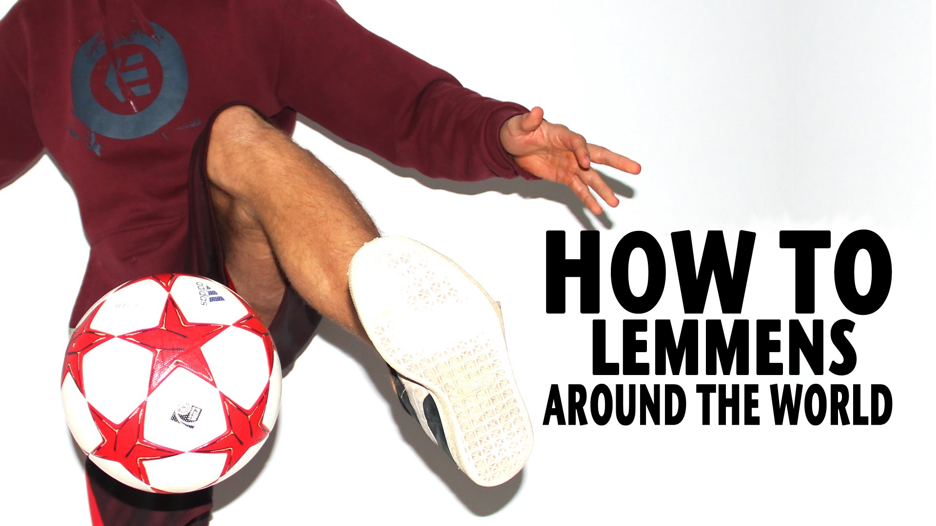 How To Learn Lemmens Around The World | Freestyle Football Training | Palle