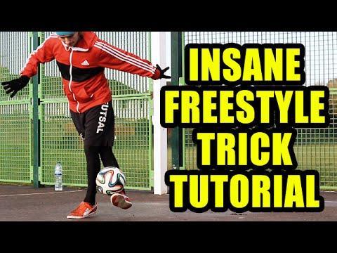 Insane Freestyle Skill Tutorial – Football Freestyle Trick