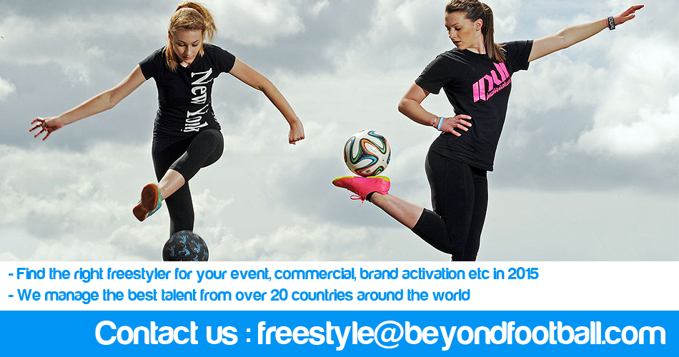 Hire A Football Freestyler - Soccer Freestyler - World Cup, EURO 2016 France, UEFA Champions League